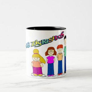 Ziskisitos Two-Tone Coffee Mug