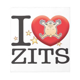 Zits Love Man Notepad