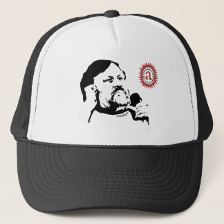 Zizek contemplating the objet petit a: The T-shirt Trucker Hat