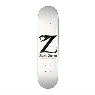 Zizzle Znake Ninja Black by Grassrootsdesigns4u 19.7 Cm Skateboard Deck