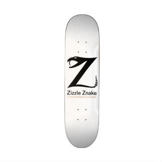 Zizzle Znake Ninja Black by Grassrootsdesigns4u Custom Skate Board