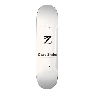 Zizzle Znake Ninja Black by Grassrootsdesigns4u Skateboard Deck