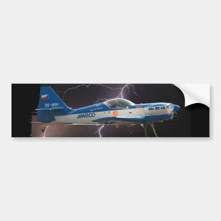 ZLIN 50 IN LIGHTNING BUMPER STICKER
