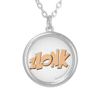 ZLONK! SILVER PLATED NECKLACE