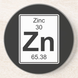 Zn - Zinc Drink Coasters