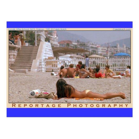 ZNICEGoldBikini Postcard