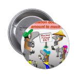 ZNN Meltdown Pinback Button