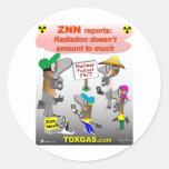 ZNN Meltdown Round Sticker