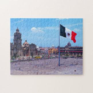 Zocalo, Mexico City, Mexico Puzzle