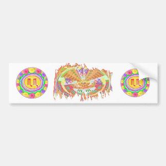 ZODIA Libra n Scorpio Shining Stars Bumper Sticker