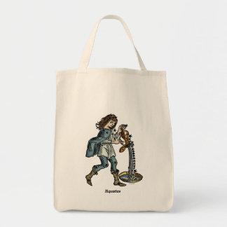 Zodiac: Aquarius, 1482 Tote Bag