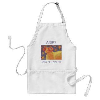 Zodiac Aries apron