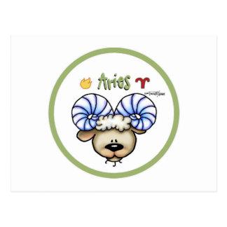 Zodiac - Aries Postcards