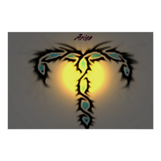 Zodiac Aries Poster