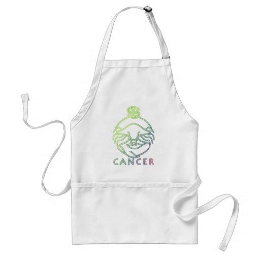 Zodiac, astrology signs-Cancer Apron