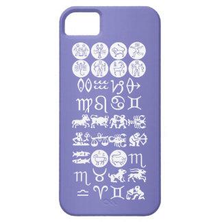 Zodiac Astrology Symbol BirthStar Goodluck Charm iPhone 5 Cases