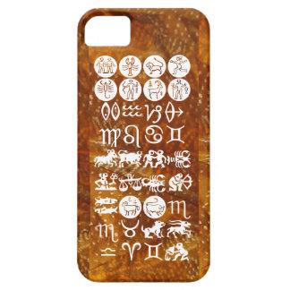 Zodiac Astrology Symbol : BirthStar Goodluck Charm iPhone 5 Cover