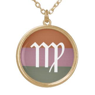 Zodiac Astrology Symbol : BirthStar Goodluck Charm Custom Necklace