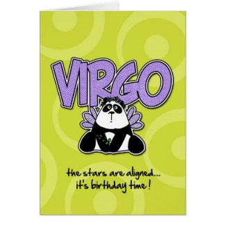 Zodiac Birthday - Virgo Card
