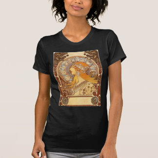 Zodiac by Mucha T-Shirt