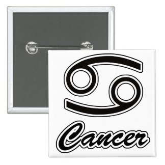 Zodiac: Cancer 15 Cm Square Badge