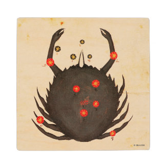 Zodiac: Cancer, C1350 Wood Coaster