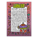 Zodiac - Cancer Fun Facts Cards