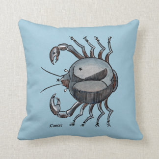 Zodiac: Cancer In Color Cushion