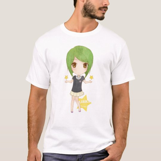 Zodiac Fairy Libra Girls T-Shirt