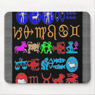 ZODIAC For FUN DISPLAY ONLY belief not necessary Mouse Pad