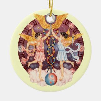 Zodiac Gemini - Customize it! Christmas Ornament
