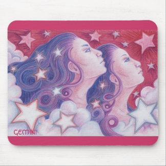 Zodiac Gemini mousepad