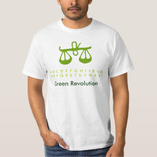 Zodiac: Green Revolution FairTrade T Shirt