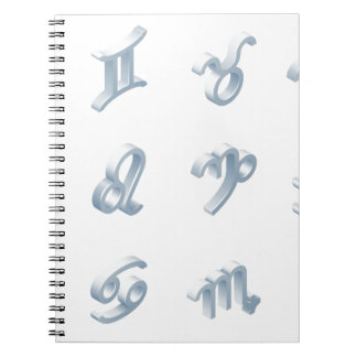 Zodiac Horoscope Icon Set Notebooks