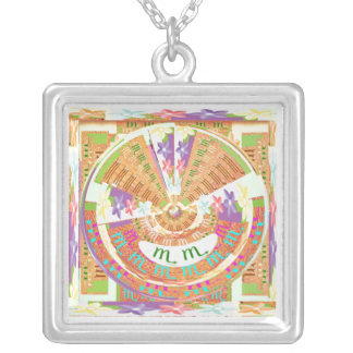 ZODIAC Jewels Templates Silver Plated Necklace