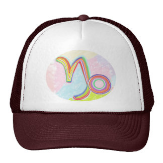 ZODIAC Labels, Decorations, Paper Craft Greeting Trucker Hat