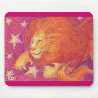Zodiac Leo mousepad