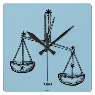 Zodiac: Libra, 1482 Wall Clock