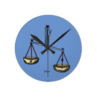 Zodiac: Libra In Color Clocks