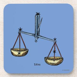 Zodiac: Libra In Color Drink Coaster