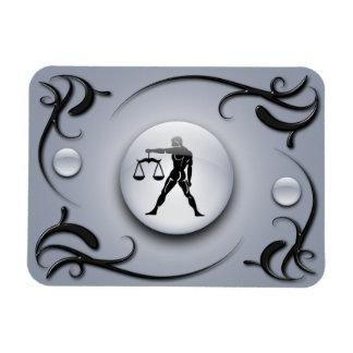 Zodiac Libra Rectangular Photo Magnet