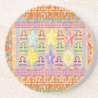 ZODIAC Libra Shining Stars Drink Coaster