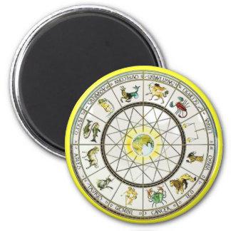 Zodiac magnet