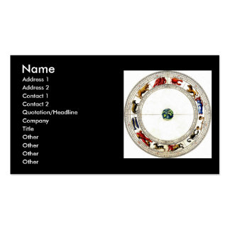 Zodiac Pack Of Standard Business Cards