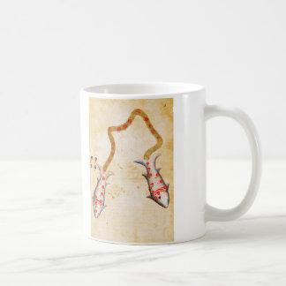 Zodiac: Pisces, C1350 Basic White Mug