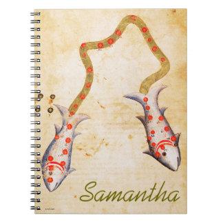 Zodiac: Pisces, C1350 Notebooks