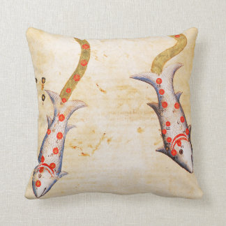 Zodiac: Pisces, C1350 Throw Pillow
