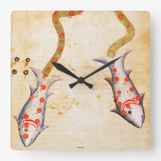 Zodiac: Pisces, C1350 Wall Clocks