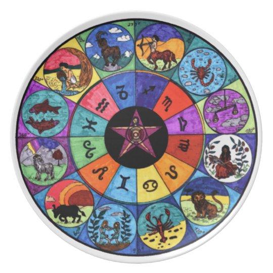 Zodiac Ritual Plate