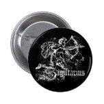 Zodiac Sagittarius 6 Cm Round Badge
